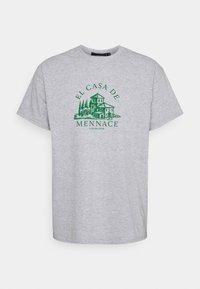 Mennace - EL CASA UNISEX - T-shirt con stampa - grey - 5
