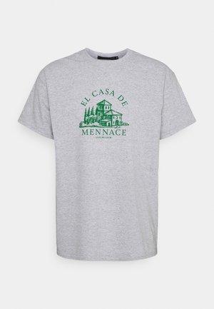 EL CASA UNISEX - T-shirts print - grey