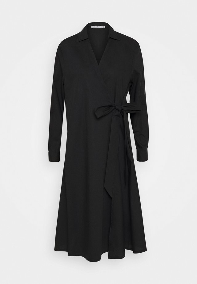 NESSA - Korte jurk - black