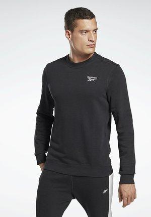 SMALL LOGO ELEMENTS SWEATSHIRT - Sweatshirt - black