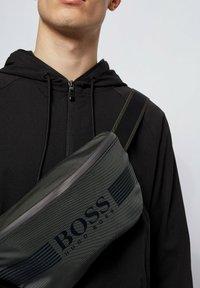 BOSS - Bum bag - dark grey - 1