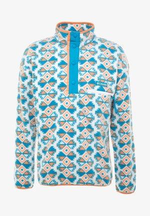HELVETIA™ HALF SNAP - Bluza z polaru - white