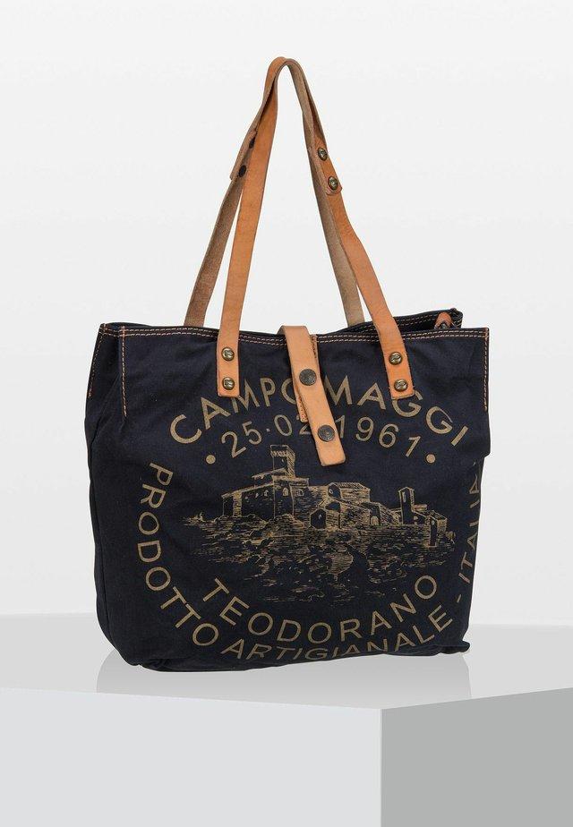 TEODORANO - Tote bag - black