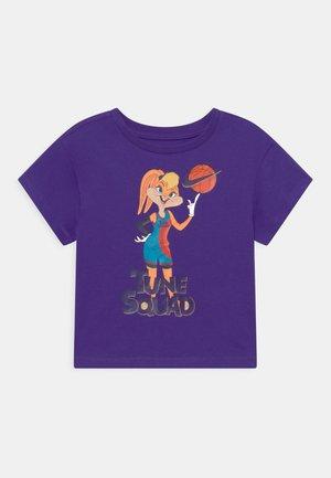 HEMTAPE TEE - T-shirt print - purple