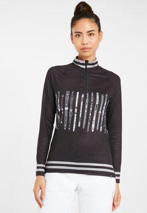 SKIROLLI UPSLOPE - Unterhemd/-shirt - black