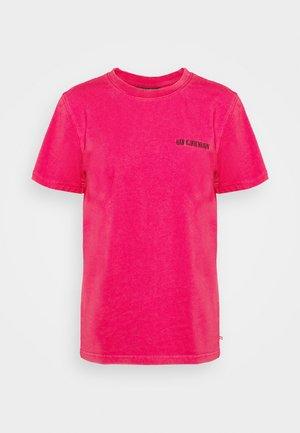 CASUAL TEE - Print T-shirt - faded dark pink