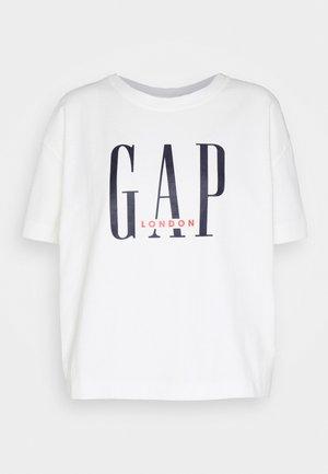 Print T-shirt - milk