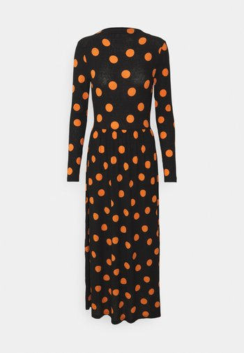 JDYSVAN DRESS  - Vestito lungo - black