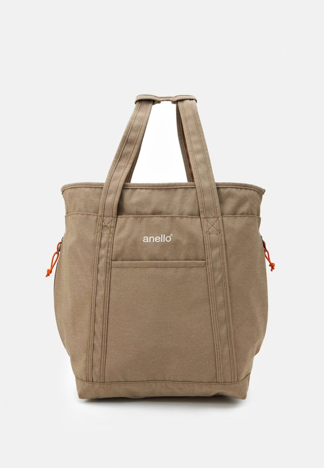 2WAY TOTE BACKPACK UNISEX - Rugzak - beige