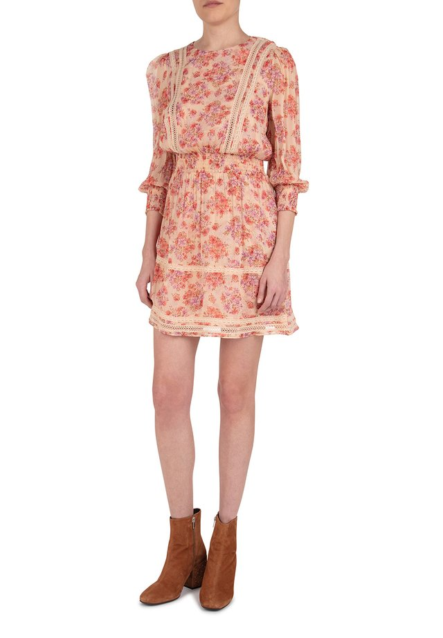 WITH INLAID LACE - Day dress - pin02