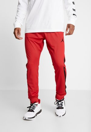 ALPHA DRY PANT - Tracksuit bottoms - gym red/black