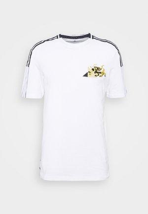 JUVENTUS TURIN TEE - Klubbkläder - white/black