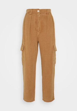 Trousers - biscuit