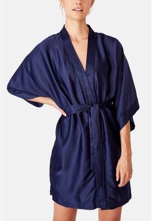 KIMONO GOWN - Dressing gown - blue
