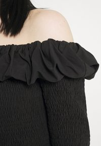 NA-KD - OFF SHOULDER  - Long sleeved top - black - 5