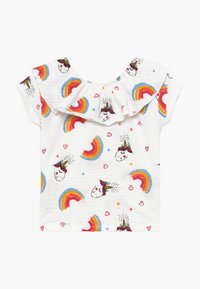 Lemon Beret - SMALL GIRLS - T-shirt print - optical white - 1
