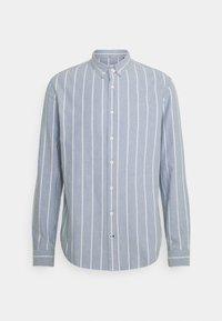 JOHAN OXFORD STRIPE - Shirt - light blue