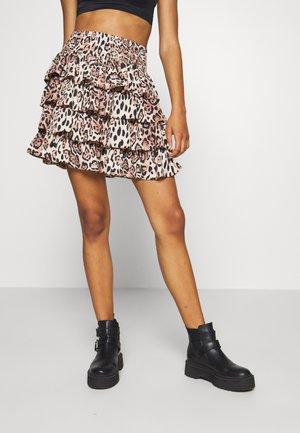 LUCY SKIRT - A-line skirt - sand shell