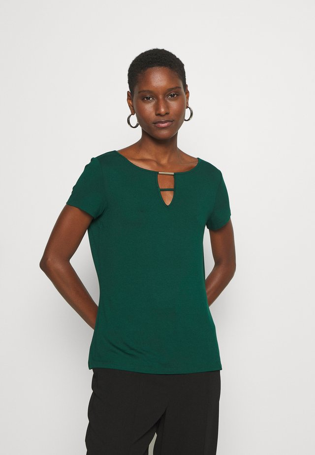 T-shirt basic - laguna green