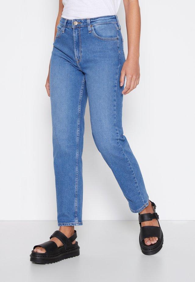 CAROL - Straight leg jeans - light worn