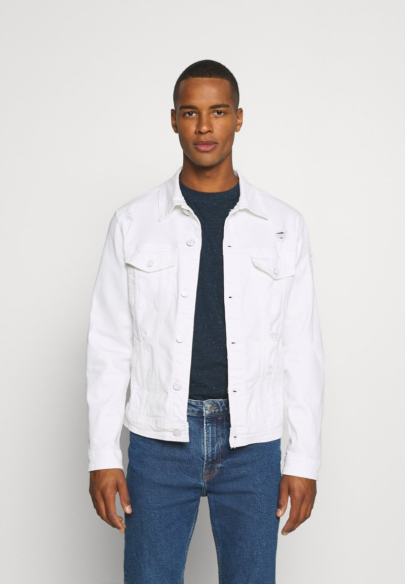 Gianni Lupo - GIU - Denim jacket - white