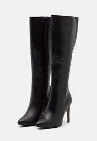 Steven New York - EFFINA - Boots med høye hæler - black - 2