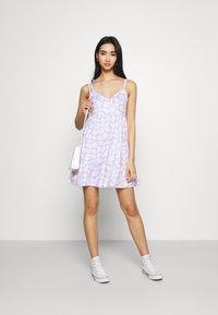 Hollister Co. - BARE DRESS - Jerseykjole - lavender - 1