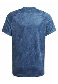 adidas Performance - Camiseta estampada - blue - 1