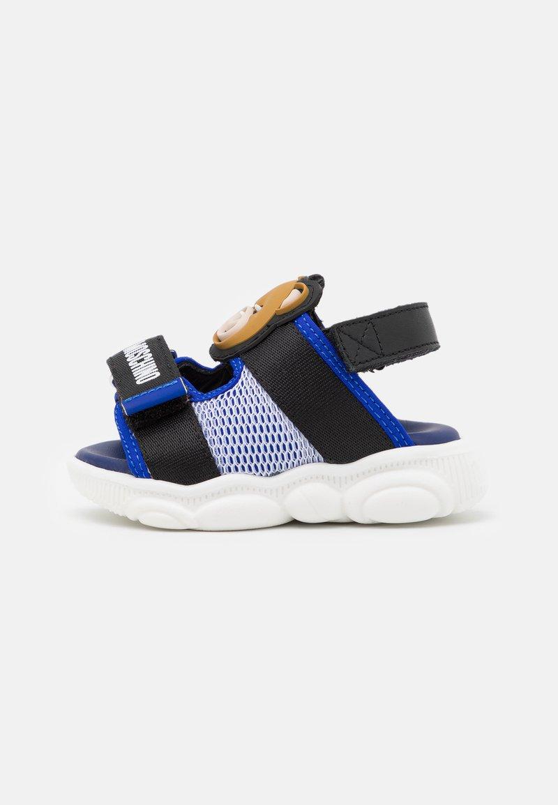 MOSCHINO - UNISEX - Sandals - blue/black