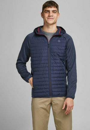 JJEMULTI QUILTED JACKET - Light jacket - navy blazer