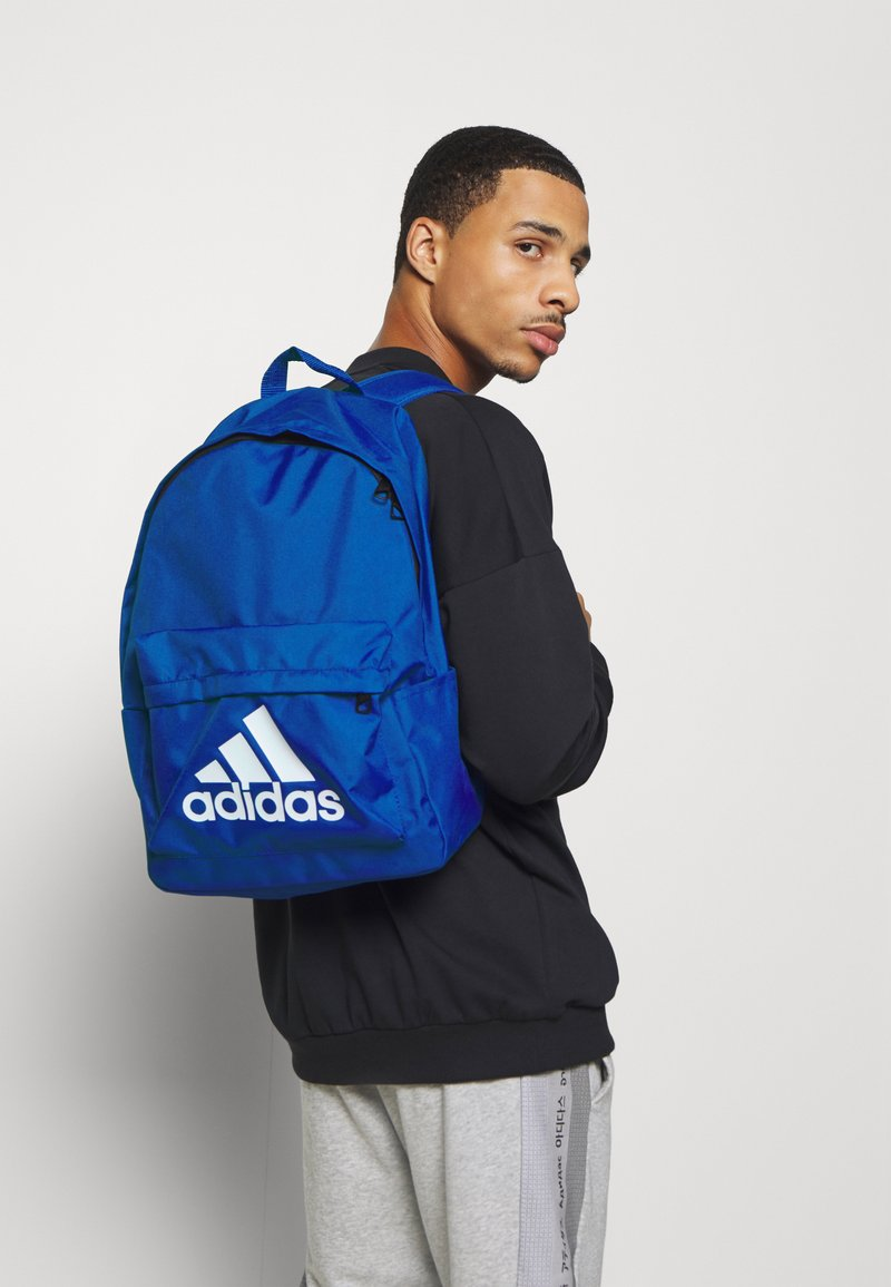 adidas Performance - CLASSIC BACK TO SCHOOL SPORTS BACKPACK UNISEX - Mochila - royal blue/white