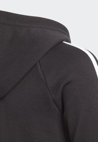 adidas Performance - MUST HAVES 3-STRIPES HOODIE - Sudadera con cremallera - black - 3