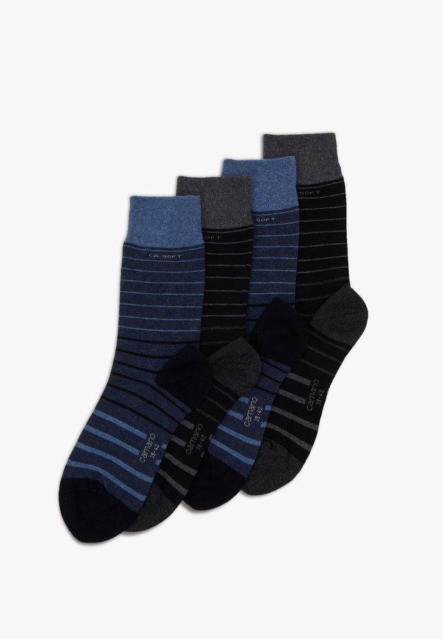 SOCKS UNISEX 4 PACK - Socks - jeans melange
