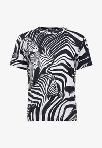 Just Cavalli - T-Shirt print - black/white - 3