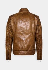 Belstaff - WEYBRIDGE JACKET - Leather jacket - burnished gold - 7