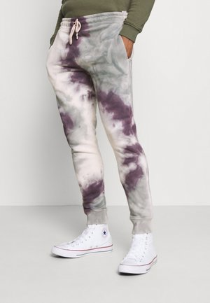TIE DYE JOGGER - Tracksuit bottoms - lilac