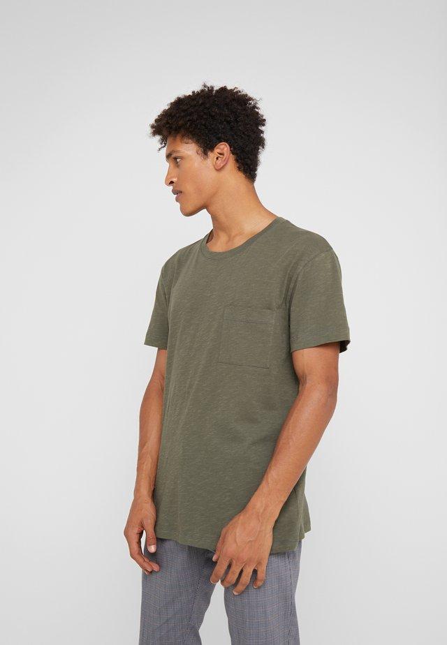 SCOLD - Basic T-shirt - oliv