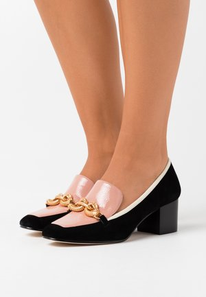 JESSA - Pumps - perfect black/pink moon/new ivory