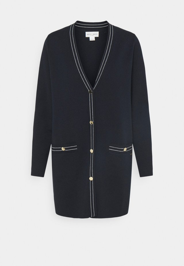 CARDIGAN MARLEE - Kardigan - dark navy