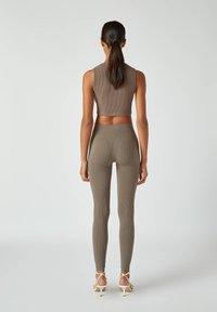 PULL&BEAR - Leggings - Trousers - grey - 2