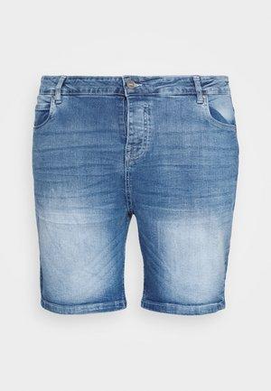 Denim shorts - light blue wash