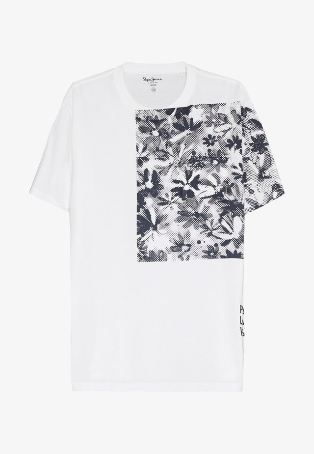 WILFRED - T-shirts med print - off white