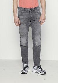 G-Star - 3D SLIM FIT - Slim fit jeans - grey denim - 0