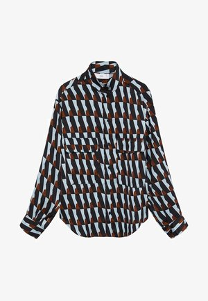 FULL - Button-down blouse - bleu ciel