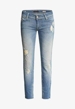 SHAPE UP PUSH UP - Slim fit jeans - blau