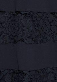 Lauren Ralph Lauren - LUXE TECH DRESS - Cocktail dress / Party dress - lighthouse navy - 6