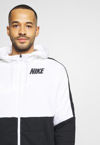Nike Performance - DRY  - veste en sweat zippée - white/black - 6