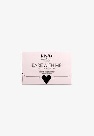 BARE WITH ME CANNABIS OIL BLOTTING PAPER - Fixerspray og -pudder - -