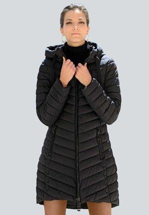 STEPPMANTEL - Down coat - schwarz