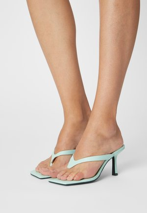 Sandalias de dedo - green dusty light